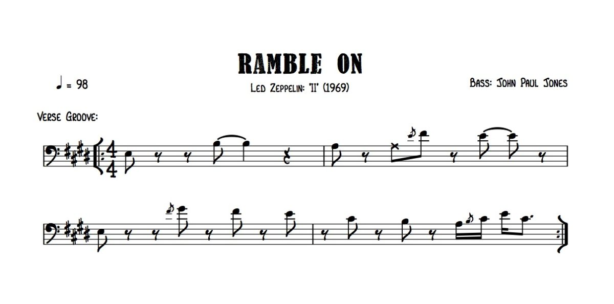 Led Zep - Ramble On