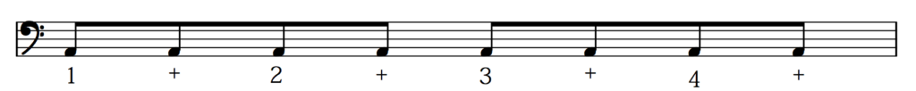 how to count eighth notes