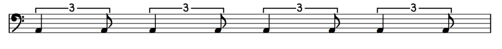 swing 8th notation