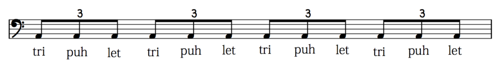 how to count eighth note triplets